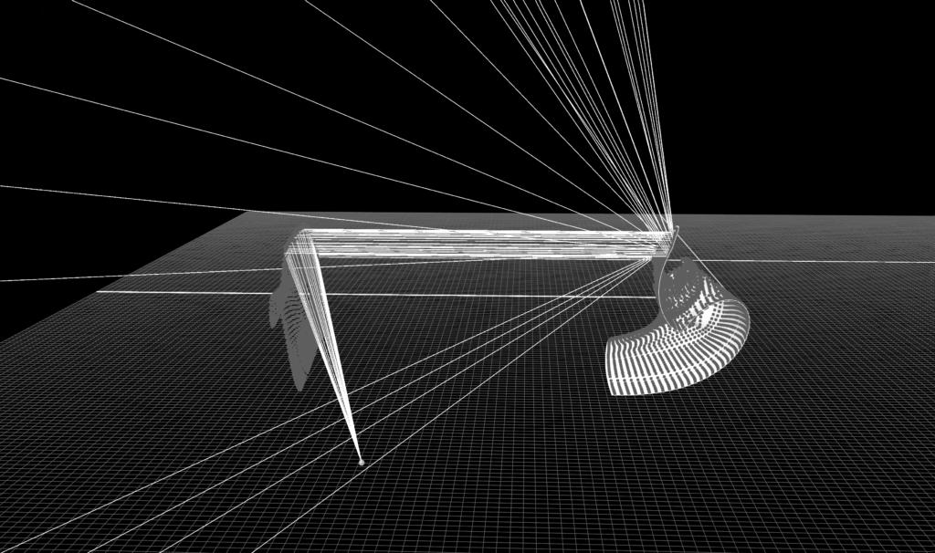 Loyd's Mirror laser simulation – Olivier Pasquet _2018