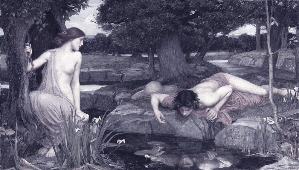 Echo and Narcissus - John William - 1903