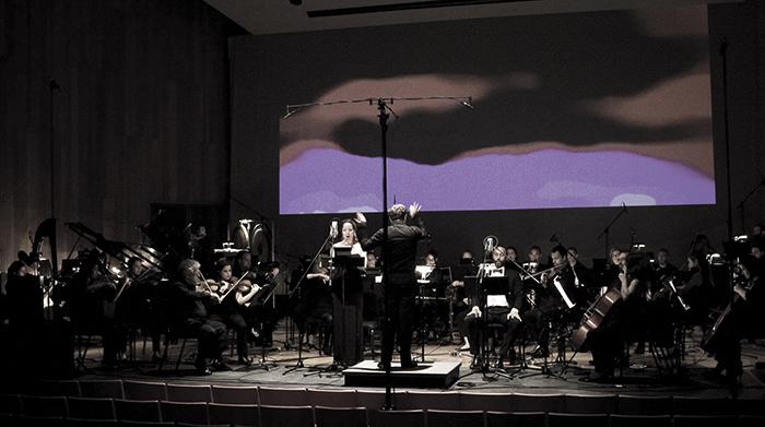 Les Quatre Temps Cardinaux - Olivier Pasquet - orchestra view
