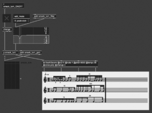 one of the many engines remodeling voice's prosody onto generated rhythmic grids _ Olivier Pasquet _2021