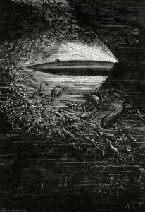 Nautilus submarine Jules Verne Twenty Thousand Leagues Under the Sea 1870