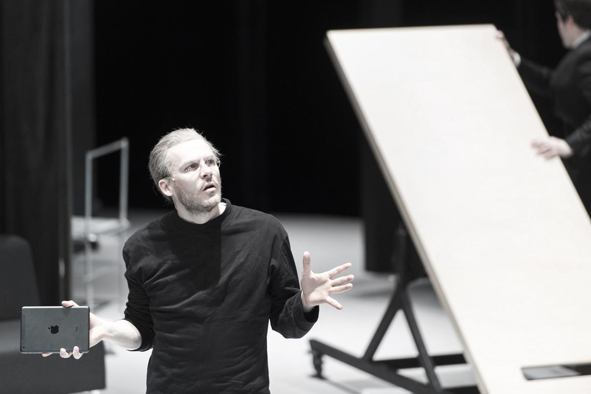 Thibault Vinçon in Steve V Opera