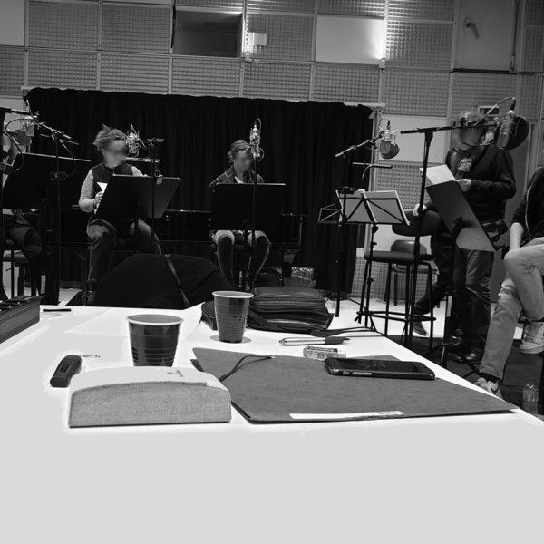 Bacchantes recording sessions at ircam studio 5 _ olivier pasquet _2020