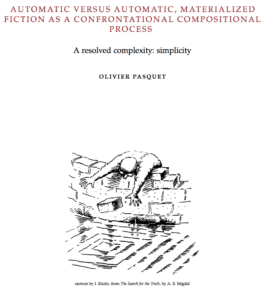 process - a resolved complexity: simplicity - olivier pasquet - 2016