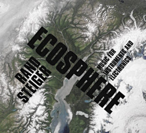 Ecosphere CD cover - Olivier Pasquet