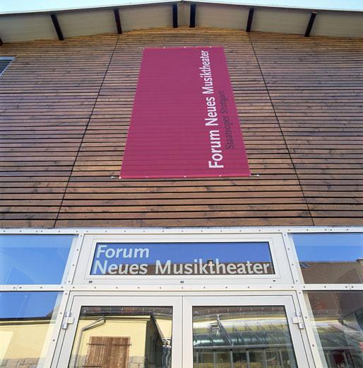 Forum Neues Musiktheater Staatsoper Stuttgart