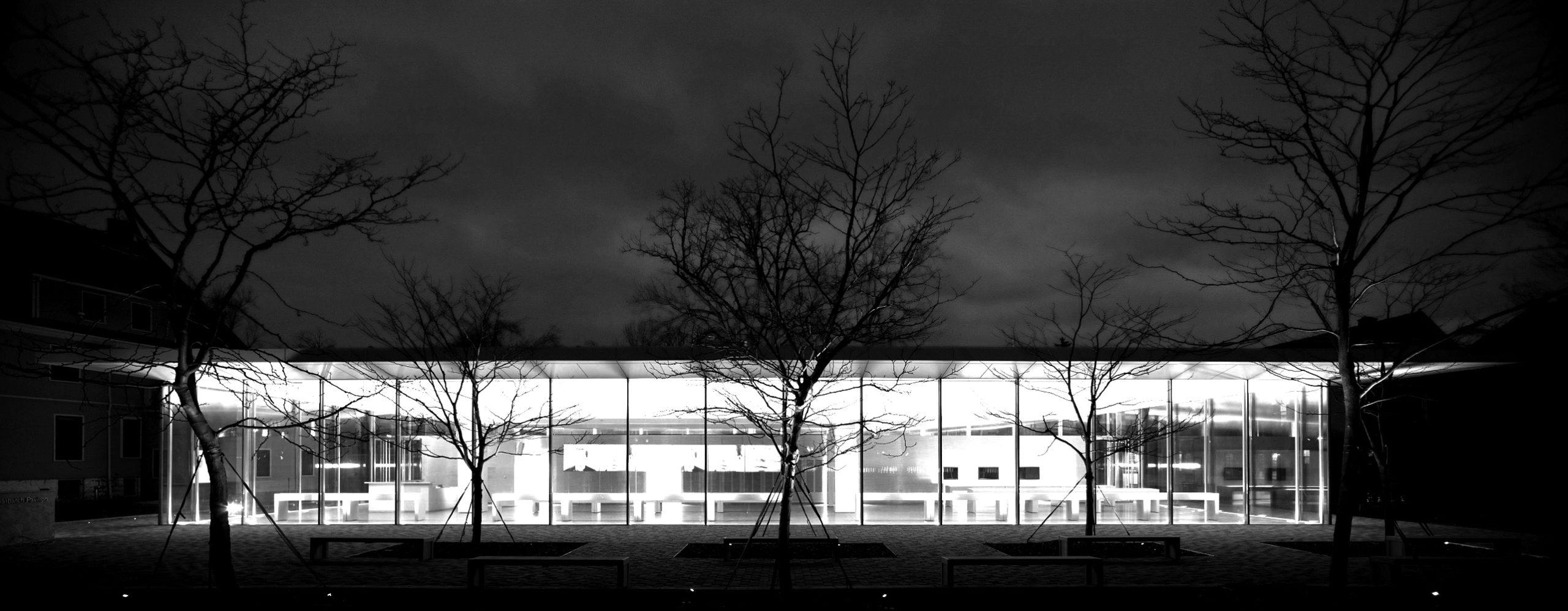 Frank Lloyd Wright Martin house's Greatbatch Pavilion, Toshiko Mori, 2009