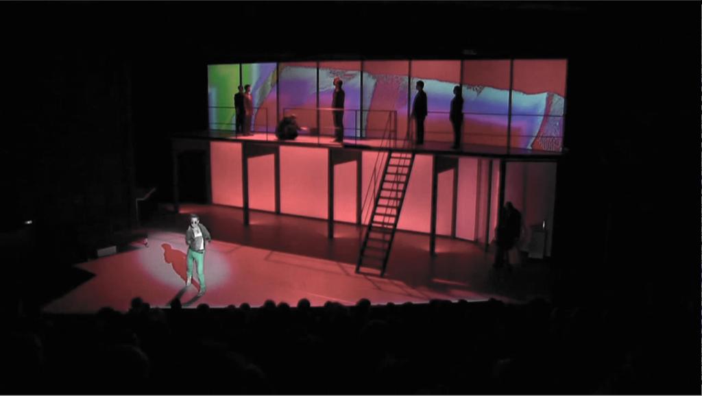 Michaël Slattery in Steve V Opera