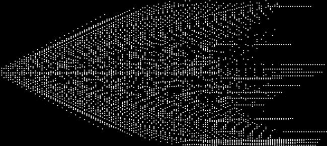 kaspar - a dimension reduction (3d-2d projection) of spiral - olivier pasquet _2010
